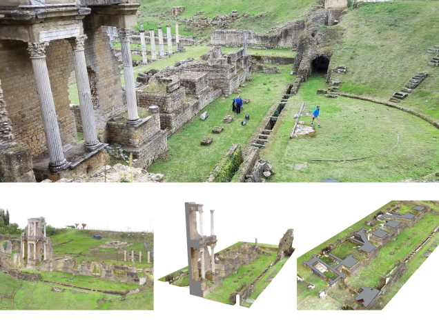 Volterra Theater- point cloud analysis