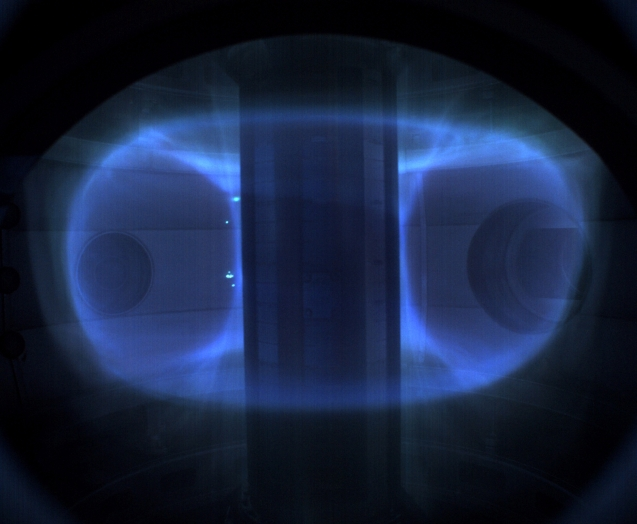 Plasma in ST40 Tokamak - March 2018
