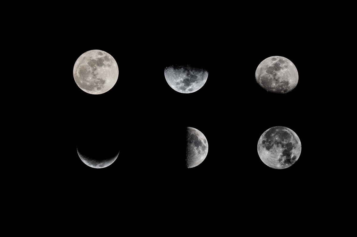 What are the phases of the moon? | NBC News MACH | Tom ...